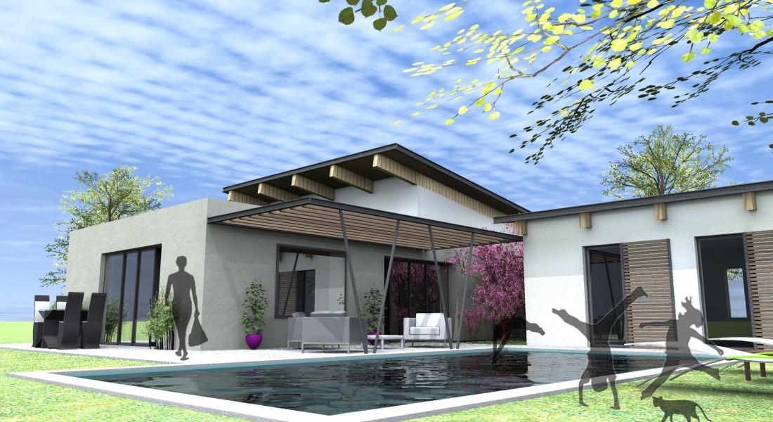 Les nombreux atoux d 39 une maison ossature m talliquebbc for Maison moderne ossature metallique