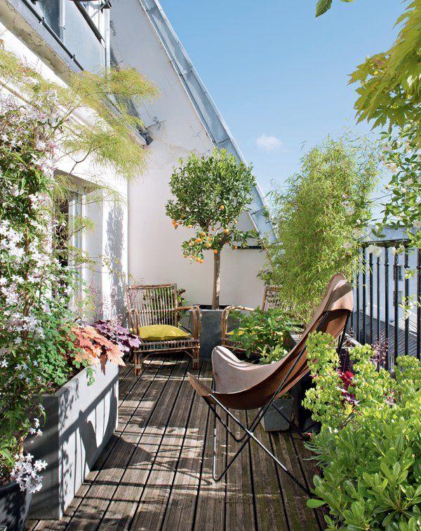 C\'est le moment de faire le plein d\'idées déco pour votre balcon ...