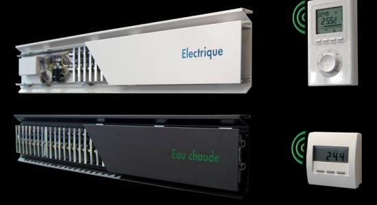 plinthes chauffantes electriques