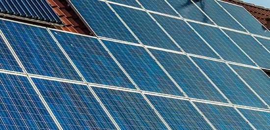 Bannière photovoltaïque